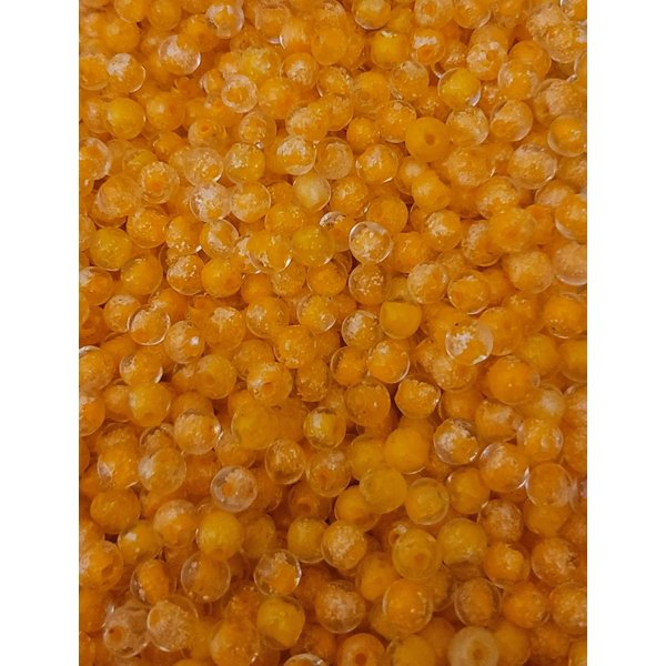 Creek Candy Beads 8mm Glow Roe Orange #268