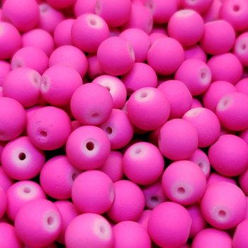 Creek Candy Beads 6mm Fuzzy Bubble Gum #120