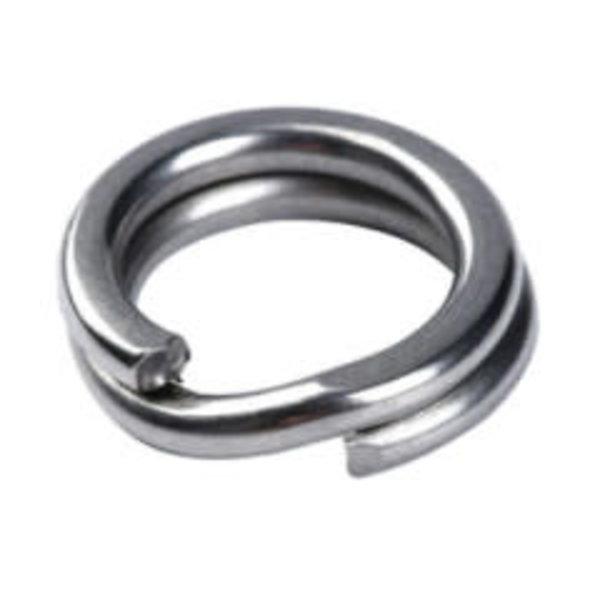 Mustad Saltism Split Ring Size 5 20-pk 62lbs