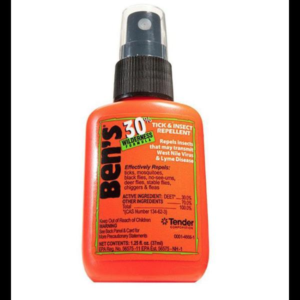 Ben's 4oz. Pump Spray. 30% Deet Backyard Formula