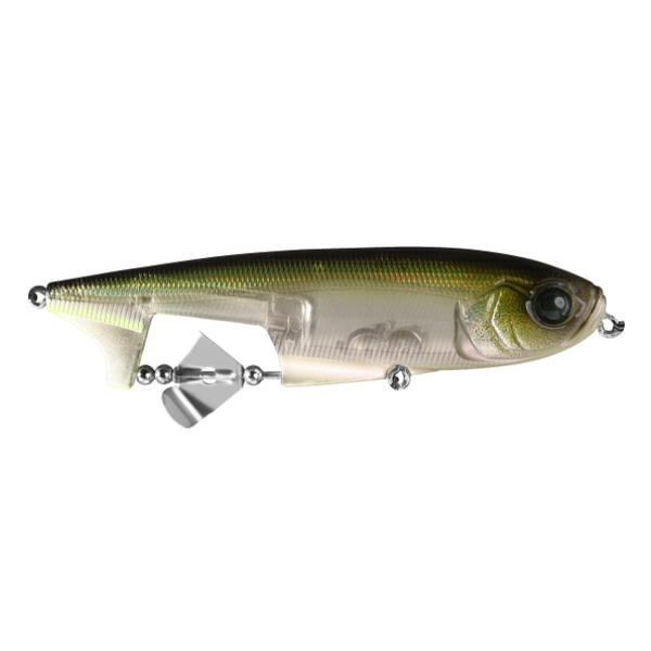 """13 Fishing Spin Walker 108 Lucky Charm. 4-1/2"""" 2/3oz"""