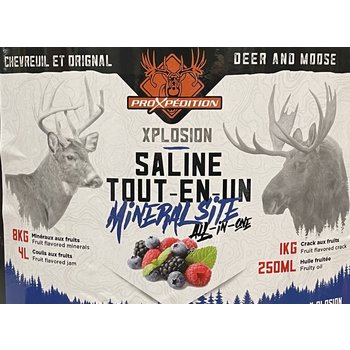 ProXpedition X-Plosion Deer/Moose Mineral Kit