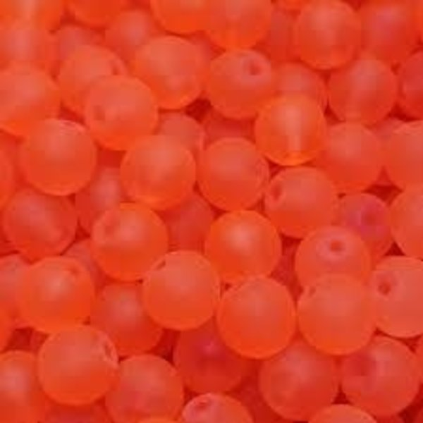 Creek Candy Beads 8mm Frosty Coho #121