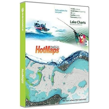 Navionics Hotmaps Platinum Canada. SD/MSD