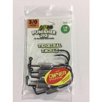 Punisher Jigs Inner Tubehead 1/8oz 3/0 Owner Hook