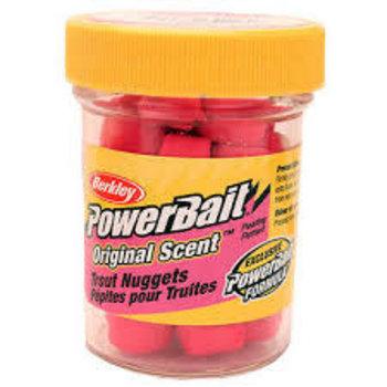 Berkley PowerBait Trout Nuggets Sherbert 1.1oz Bottle