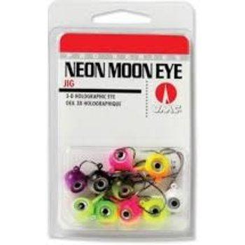 VMC Neon Moon Eye Jig. 1/4oz Assorted 10-pk