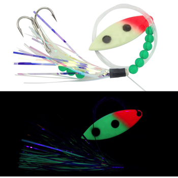 Moonshine Lures Fly Glow Bloody Nose