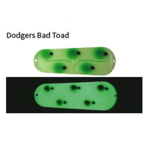 Moonshine Lures #3 Dodger Bad Toad