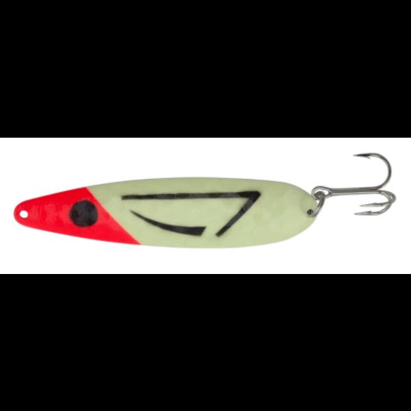 "Moonshine Lures Magnum Red Flounder 5"" Spoon"