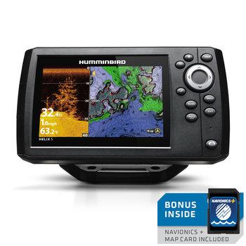 Humminbird Helix 5 CHIRP DI GPS G2 w/Nav Card