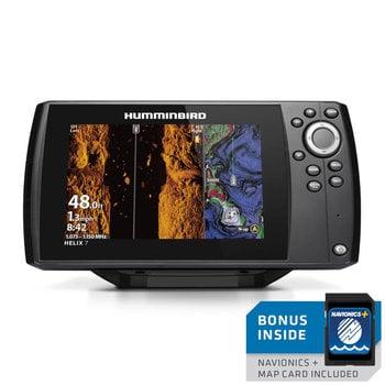 Humminbird Helix 7 CHIRP Mega SI GPS G3N w/Navionics Card