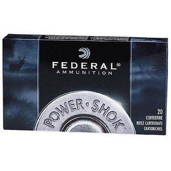 Federal Power-Shok Ammunition 30-06 Springfield 220 Grain Speer Hot-Cor Soft Point Box of 20