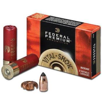 """Federal Federal Vital-Shok 20 Gauge Ammunition 5 Rounds 2-3/4"""" 5/8oz Copper Sabot Slug 1700fps"""