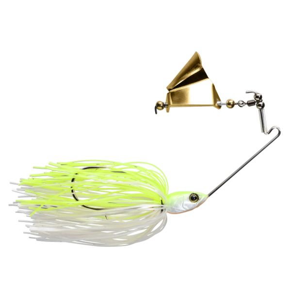 Jackall Gargle 3/8oz Chartreuse Back Pearl