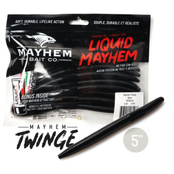 "Mayhem Twinge 5"" Black 8-pk"