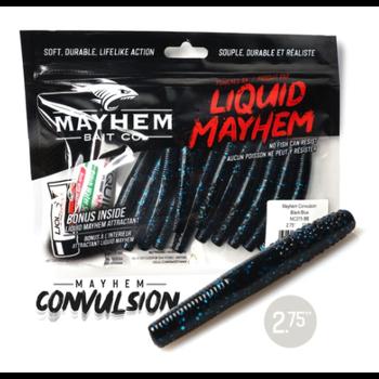 "Mayhem Convulsion 2.75"" Black/Blue 12-pk"