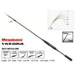Megabass Valkyrie VKS-68ML Spinning Rod. 1/8-1/2oz 6-12lb