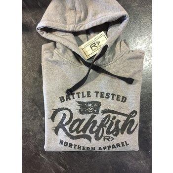 RahFish Rahfish Battle Tested Hoodie  Grey XXL