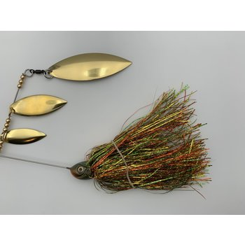B&N Custom Triple Shad Spinnerbait Perch