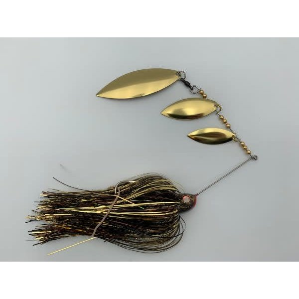 B&N Custom Triple Shad Spinnerbait Walleye