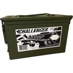 """Challenger Ammo 12 Gauge 2 3/4"""" 00 Buck 175 Rounds w/Ammo Can"""