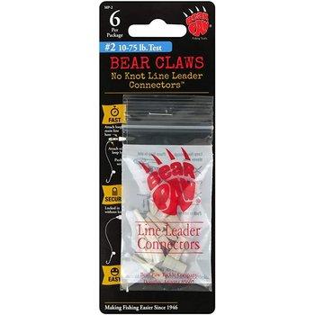 Bear Paw No Knots Line Leader Connectors MP-2