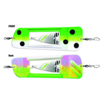 """Luhr Jensen Coyote Cyclone Flasher Size 003 Froggy Glow Moon Jelly 11"""""""
