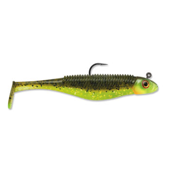 """Storm 360GT Shad SearchBait. 3-1/2"""" Hot Olive"""