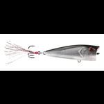 "13 Fishing Poppy Mc Pop Face 75 Chrome Black Back 3"""