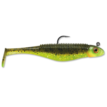 """Storm 360GT Shad SearchBait. 4-1/2"""" Hot Olive"""