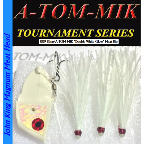 A-Tom-Mik Meat Rig Wht Dble Glow