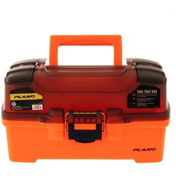 Plano Plano Two Tray Orange Tackle Box