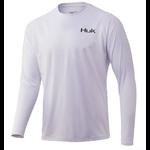 Huk 'd Up Pursuit Long Sleeve XXXL. White