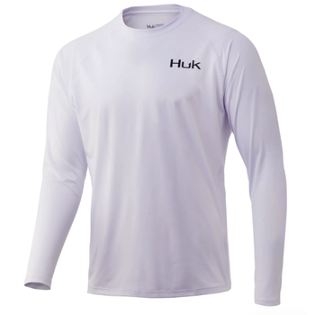 Huk 'd Up Pursuit Long Sleeve L. White