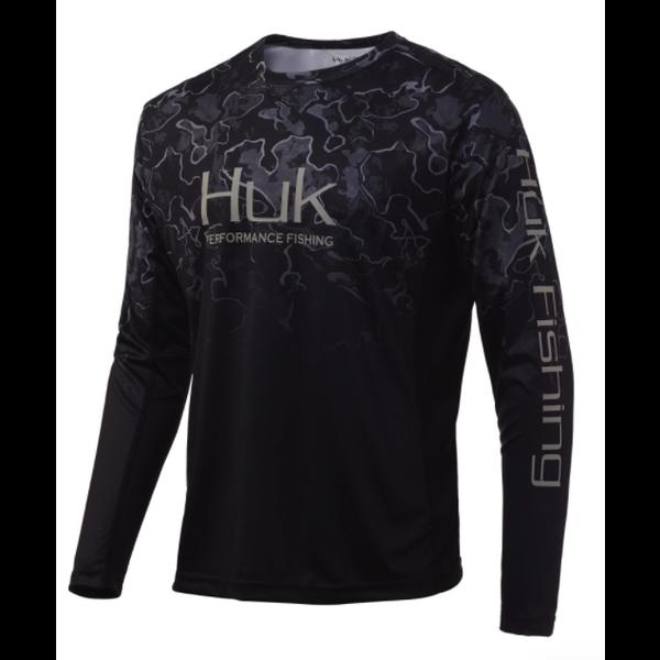 Huk Icon X Camo Fade, Hannibal Black XXL