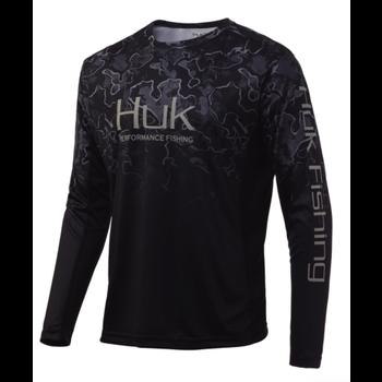 Huk Icon X Camo Fade, Hannibal Black L