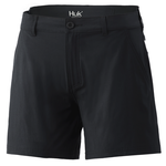 Huk Womens Next Level Short Black XL