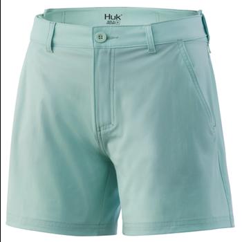 Huk Womens Next Level Short Seafoam XL