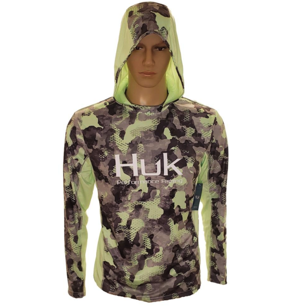 Huk Icon X KC Refraction Camo Hoodie. New Superior XL