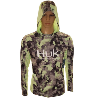 Huk Icon X KC Refraction Camo Hoodie. New Superior L