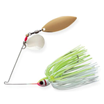 Booyah Tandem Blade Spinnerbait. Chartreuse White  1/2oz