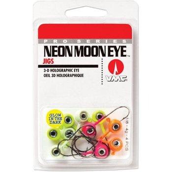 VMC Neon Moon Eye Jig Glow Kit 1/4 Assorted