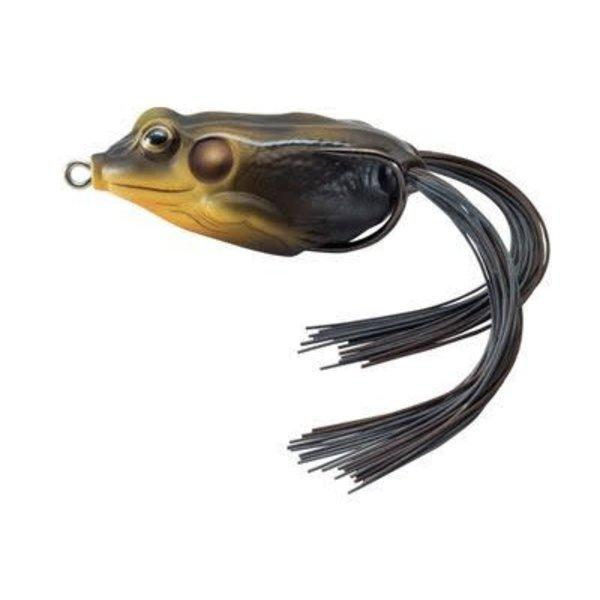"""Koppers Live Target Frog. 1-3/4"""" Black/Tan 1/4oz"""
