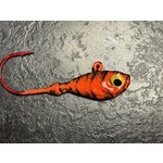 Gagnon's Custom Jigs 1/4 OZ Orange Tiger 4 Pack (GCJ14OT)