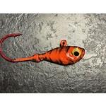 Gagnon's Custom Jigs 1/2 OZ Orange Tiger 4 Pack (GCJ12OT)