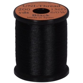 Uni-Thread Uni-Thread 6/0 Black 200yds 136D