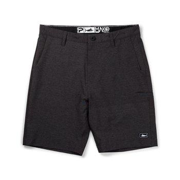 Pelagic Mako Hybrid Shorts. Black
