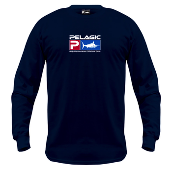 Pelagic Deluxe Logo LS Fishing Shirt
