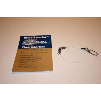 """Musky Innovations Invisileaders. 12""""x100lb"""